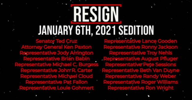 Call for Resignations!